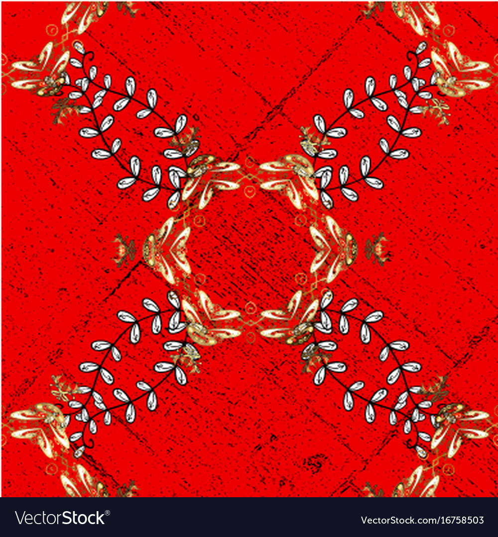Oriental classic white pattern abstract