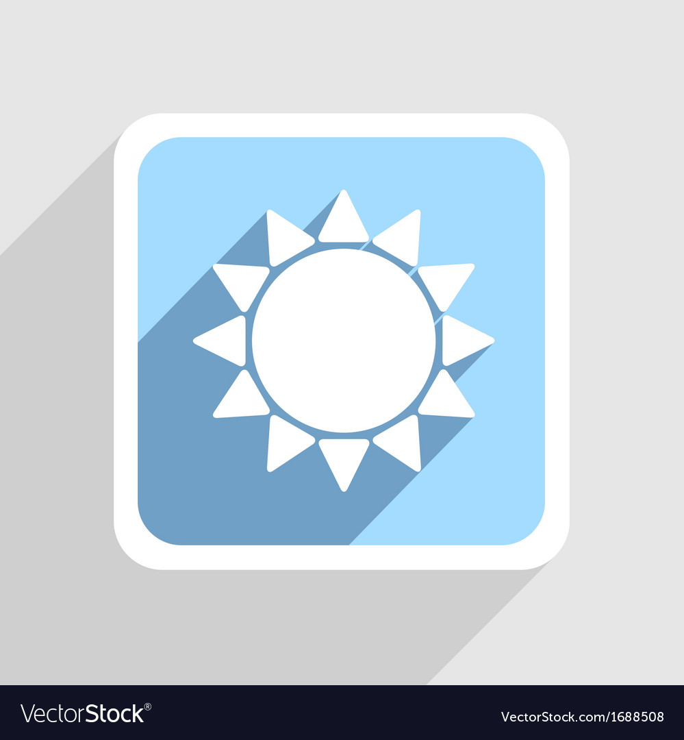 Blue icon on gray background Eps10