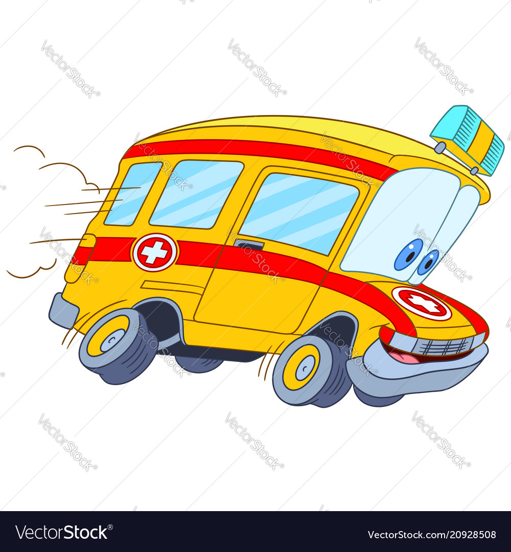 Fast ambulance car