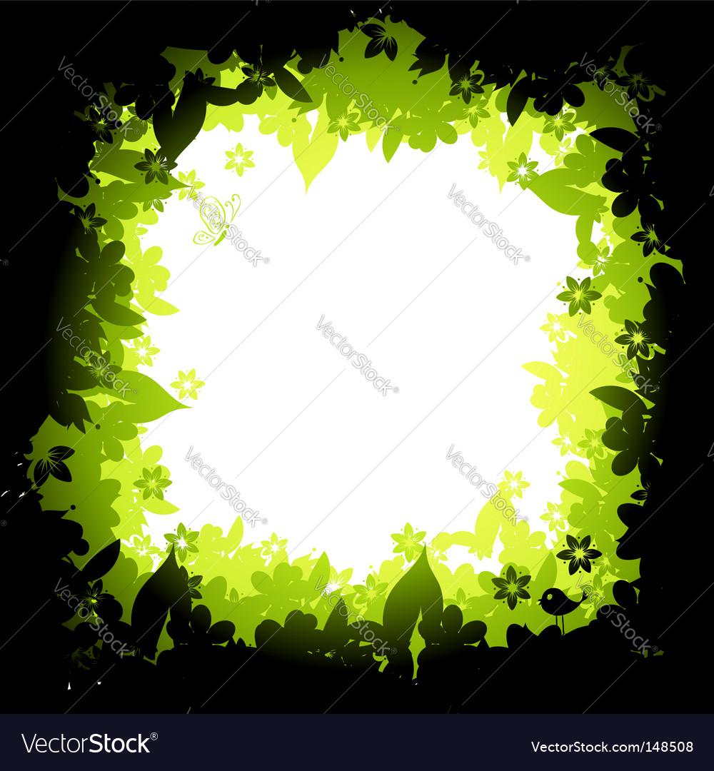 nature frame royalty free vector image vectorstock vectorstock