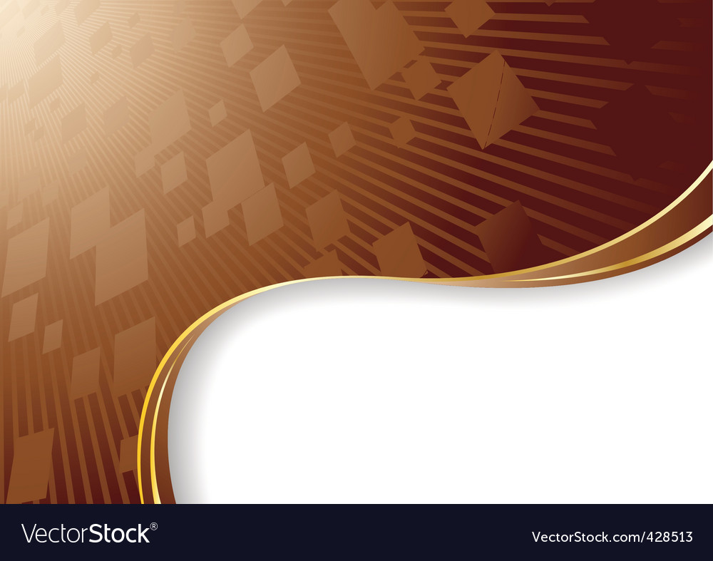 vector chocolate background royalty free vector image vectorstock