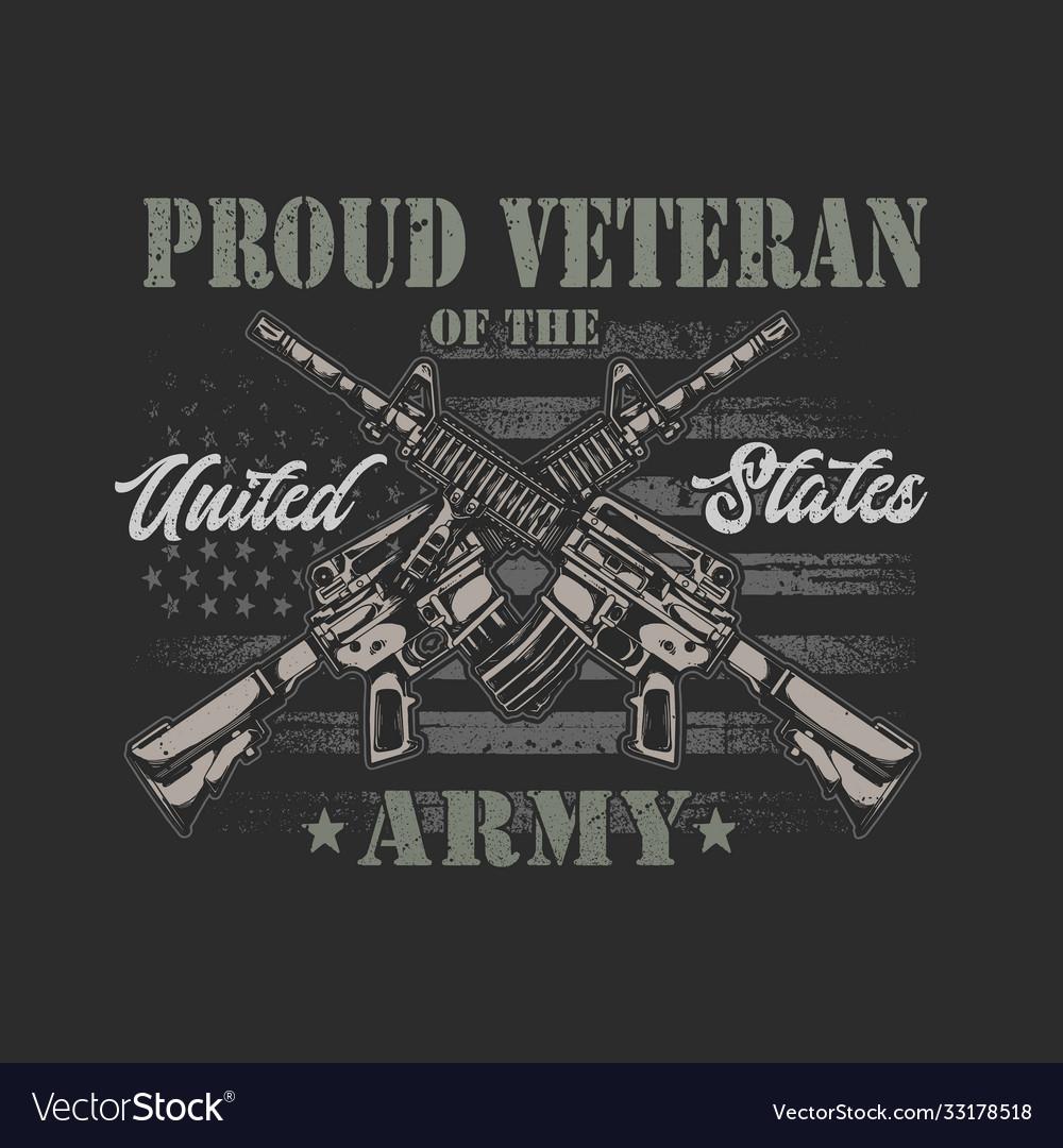 American veteran graphic