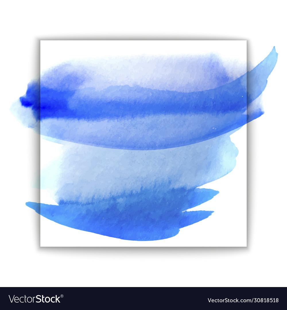 Beautiful blue watercolor wet paper texture