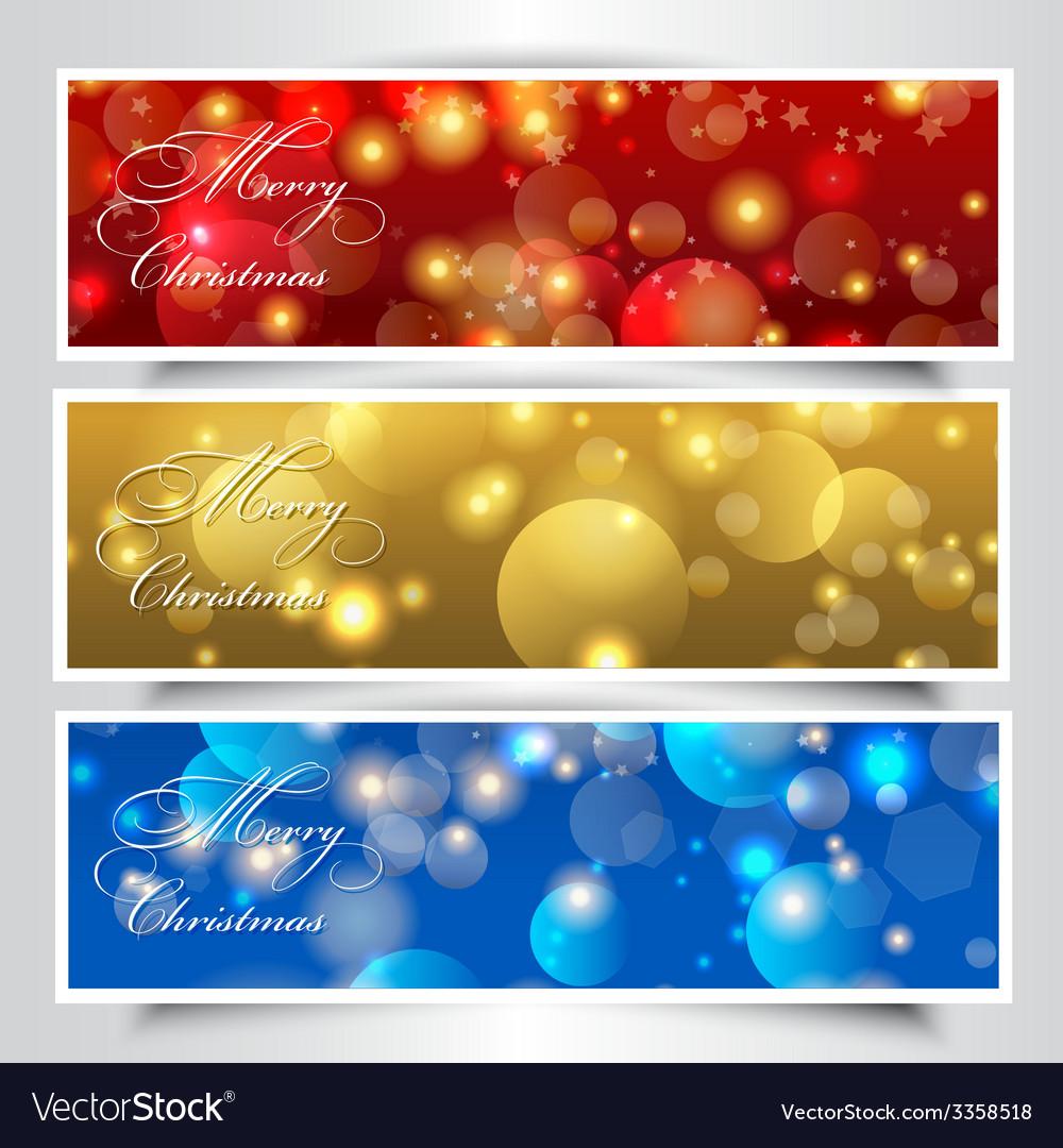 Christmas headers
