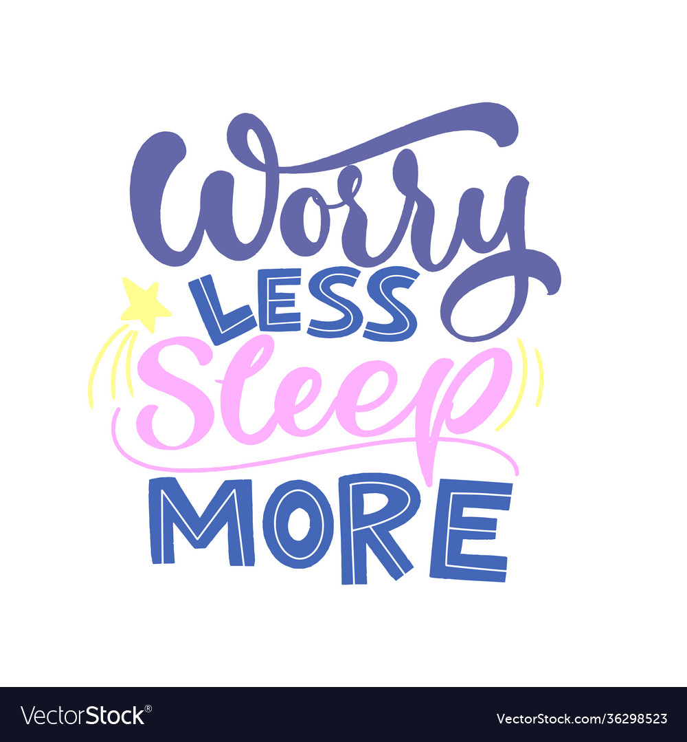 Funny sleep and good night quotes Royalty Free Vector Image