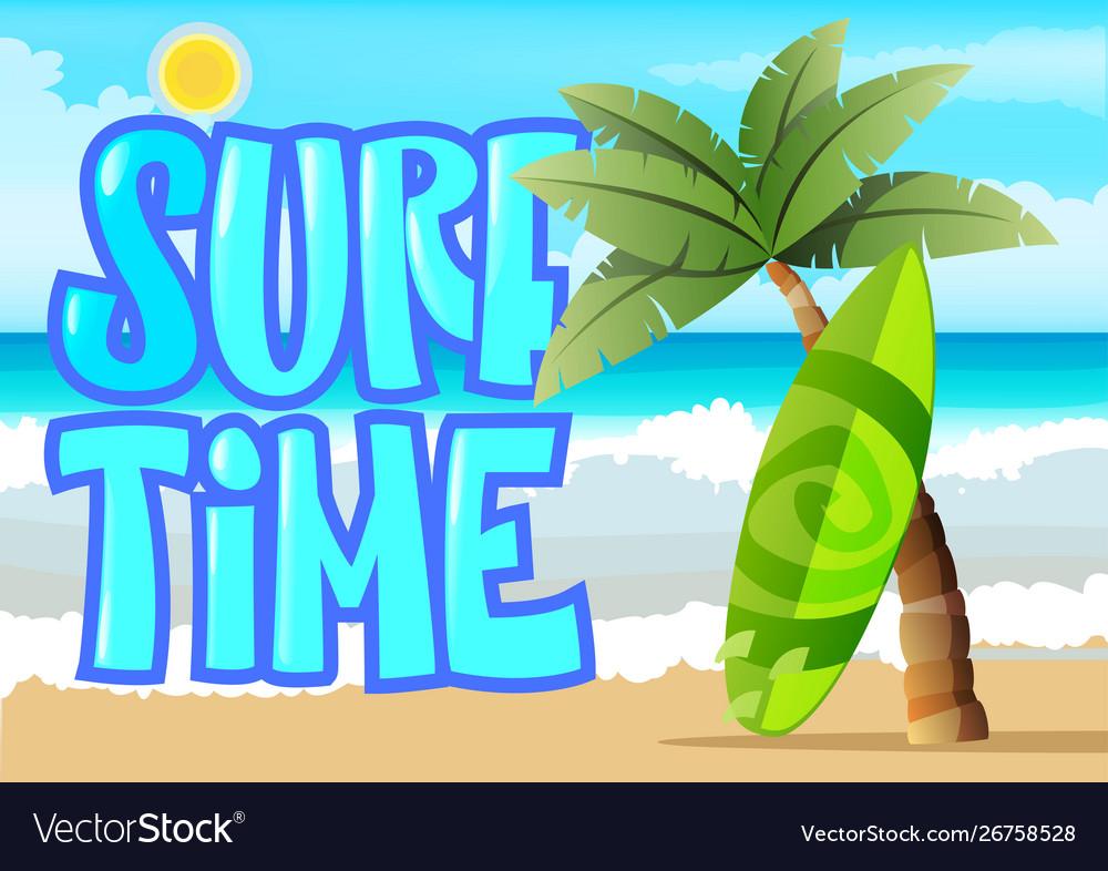 Surfing graphic work