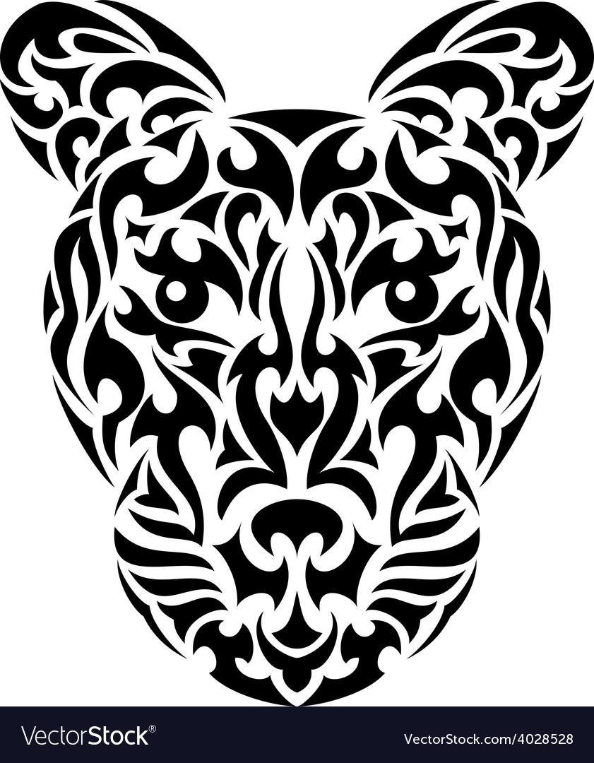 Tribal leopard