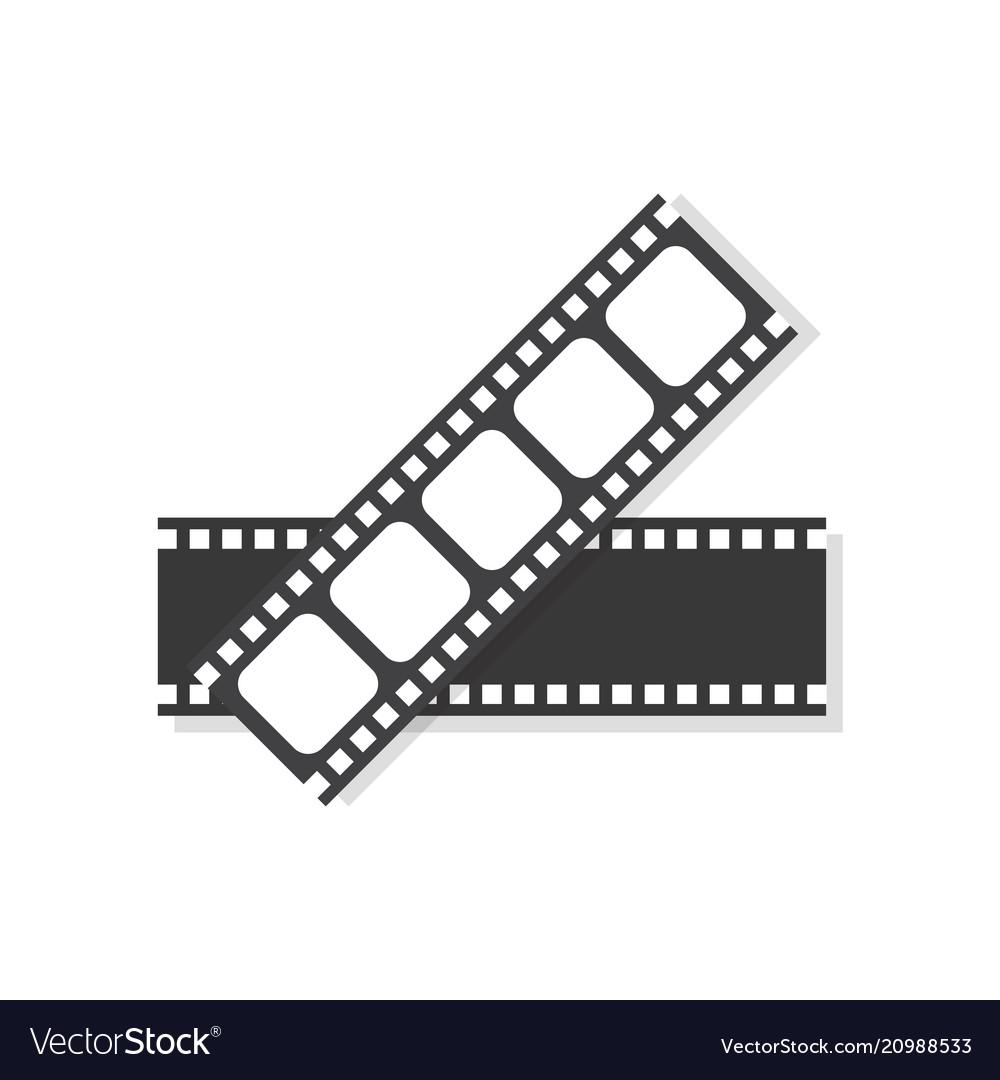 Movie film frame icon