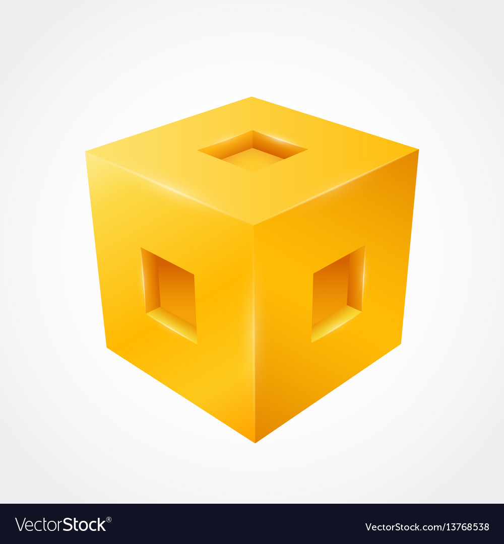 Three-dimensional cube clean