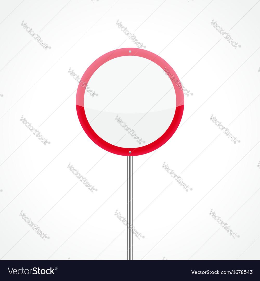 No vehicles traffic sign