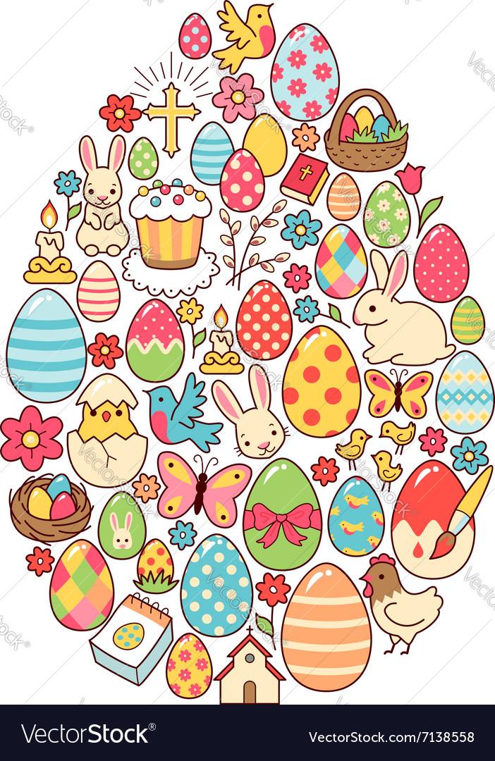 Easter egg symbol