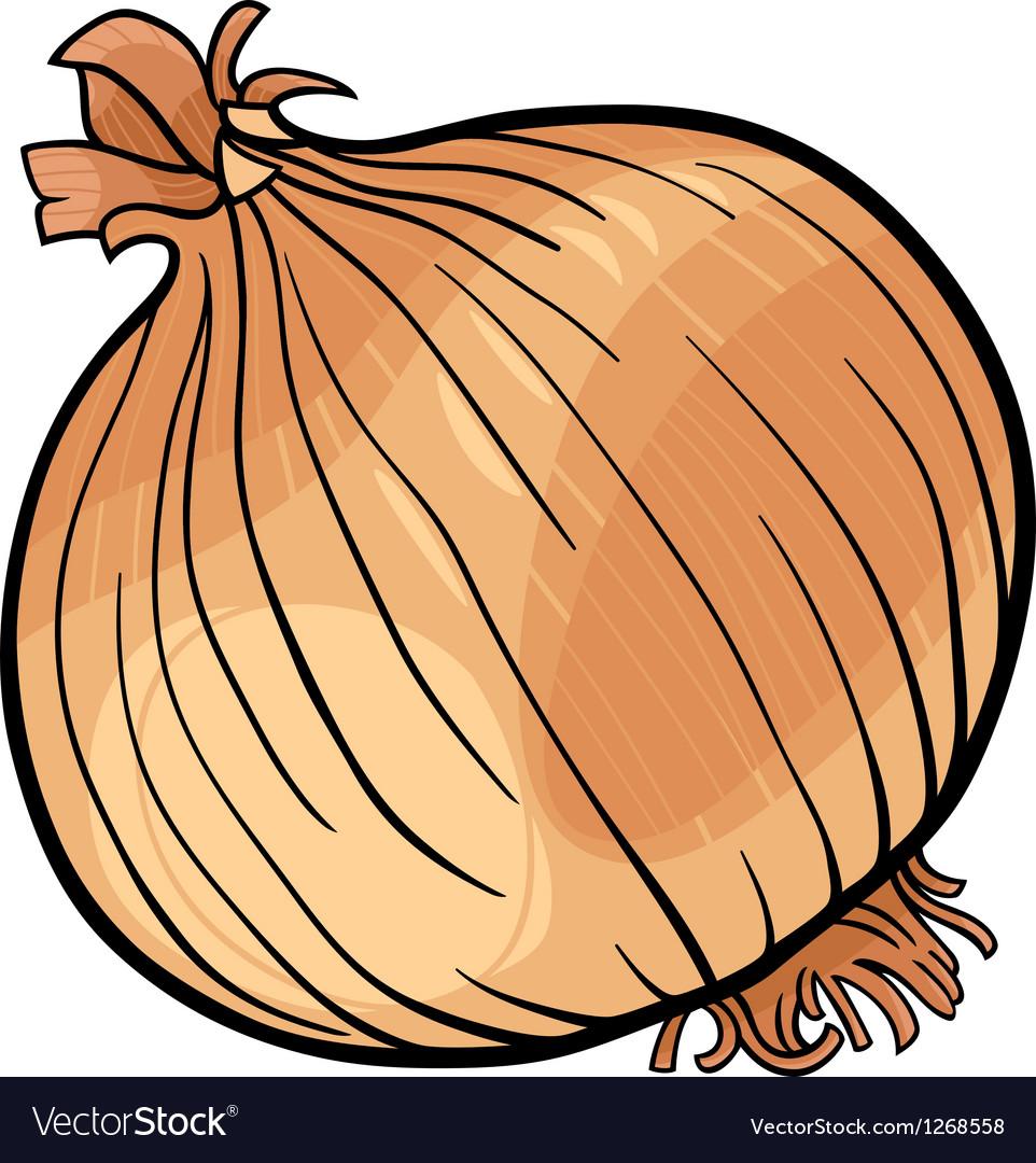 Onion vegetable cartoon
