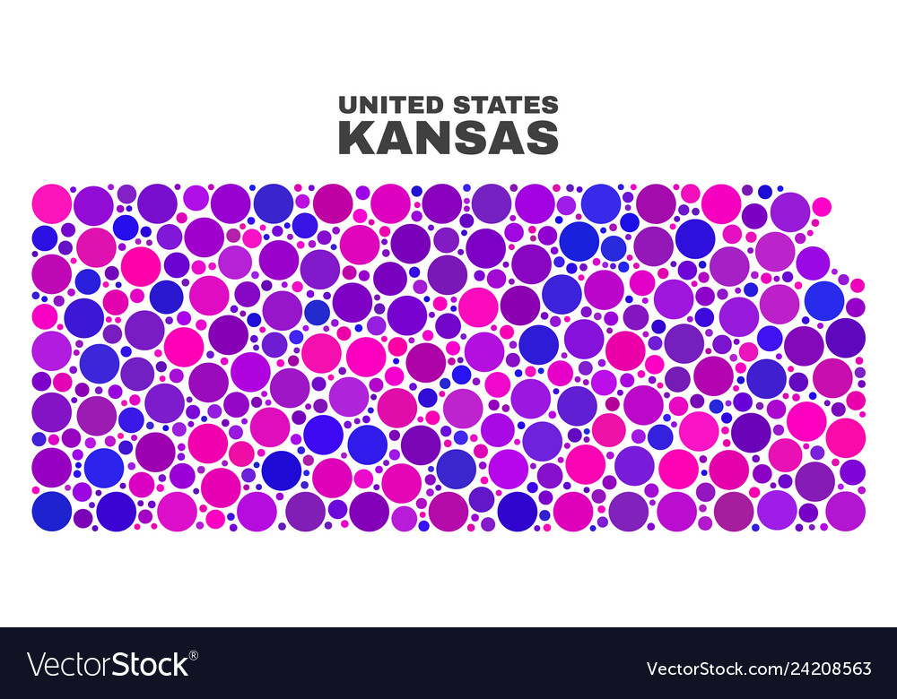 Mosaic kansas state map of spheric dots on south carolina on map, wisconsin on map, minnesota on map, lsu on map, alabama on map, notre dame on map, colorado on map, kansas highway, yale on map, tulsa on map, marquette on map, kansas state highlights, ks road map, texas a&m on map, kansas flag, virginia on map, california on map, georgia on map, washington on map, gonzaga on map,