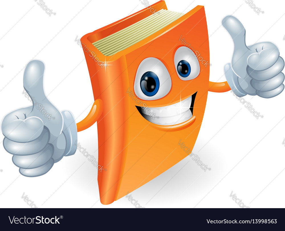 Thumbs Up Book Cartoon Character Royalty Free Vector Image The placement on this list, number of sites, prices and so on, does not necessarily reflect the quality and quantity within each site, or your particular preference. vectorstock