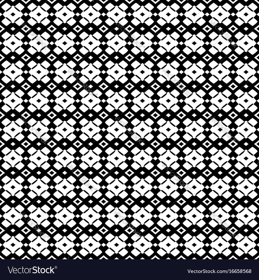 Ornamental geometric seamless texture vector image