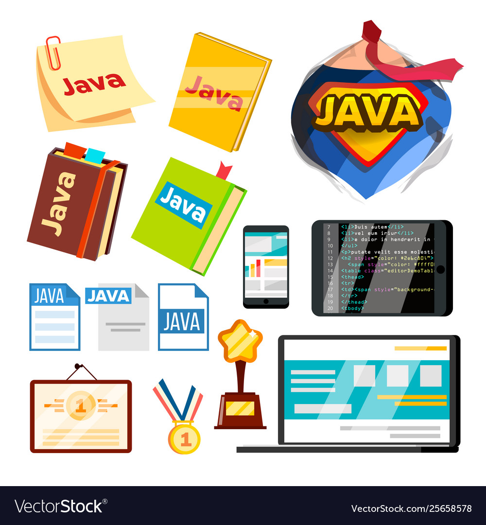 Collection element of java programming set