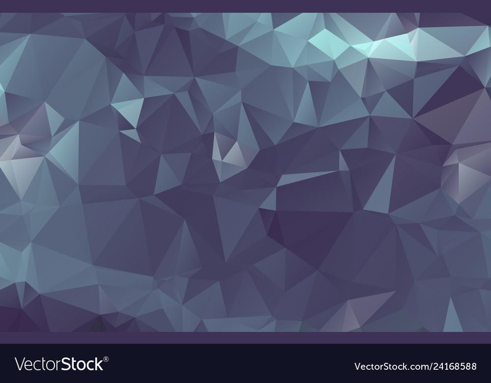 Dark silver gray blurry triangle background