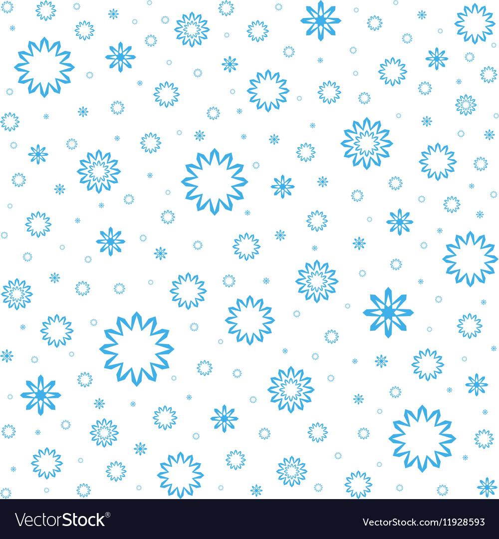 Falling snow Snowfall