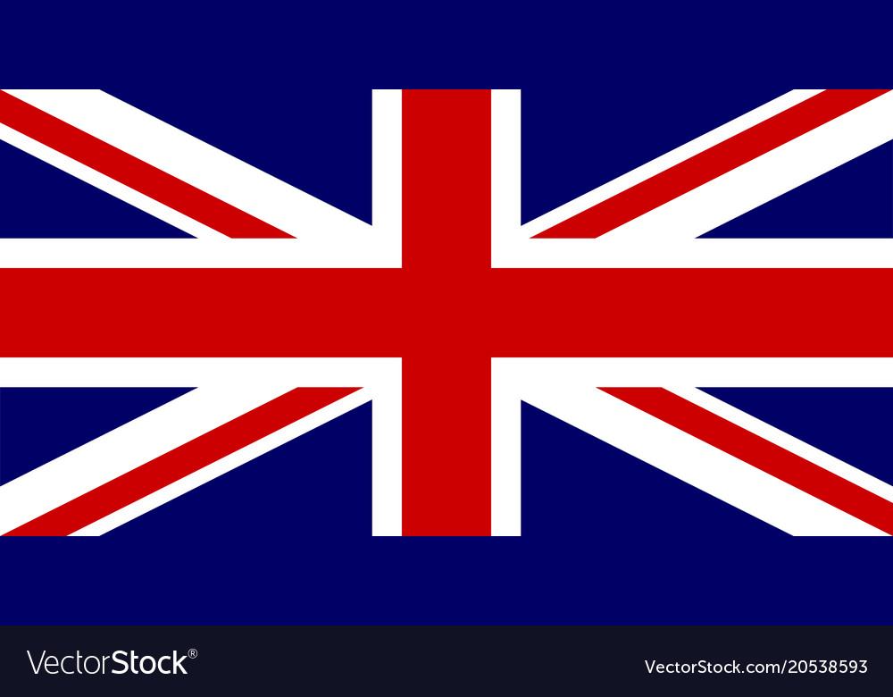 Flag of united kingdom national symbol of the