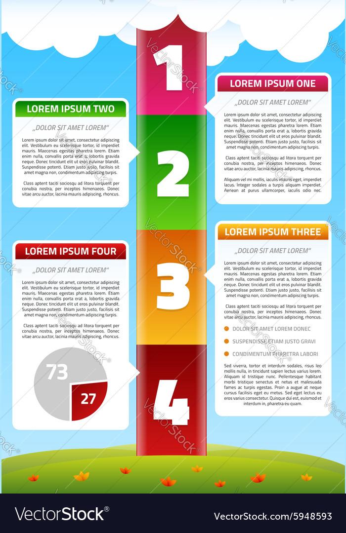 Playful Timeline Infographics