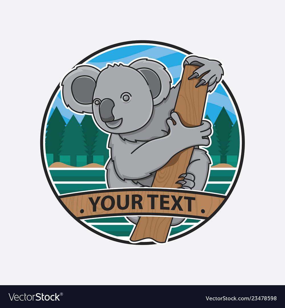 Design australia icon koala