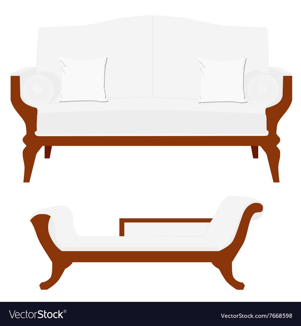 Sofa and divan
