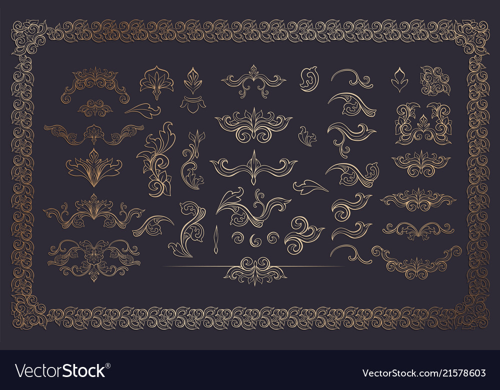 Cooper color flourishes collection on dark