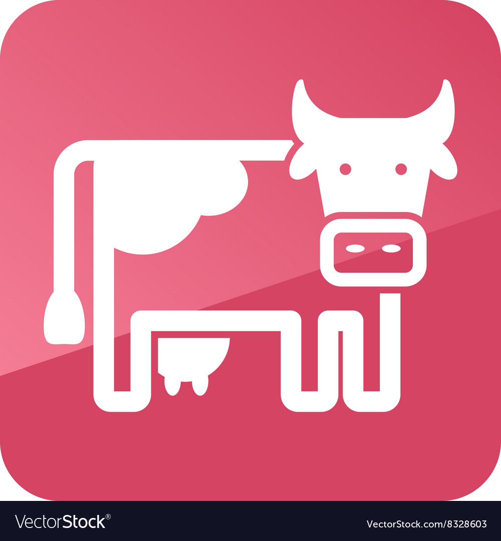 Cow icon Farm animal