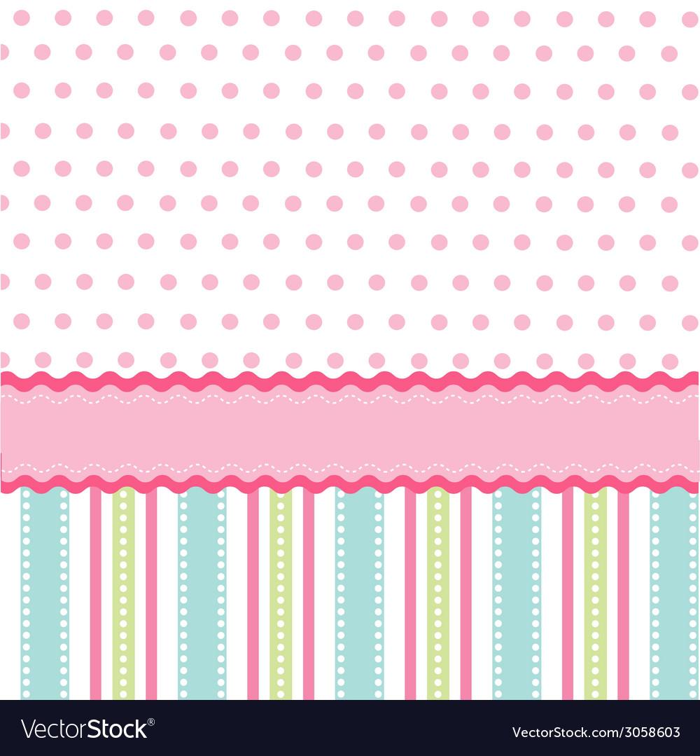 Seamless pattern walpaper vector image