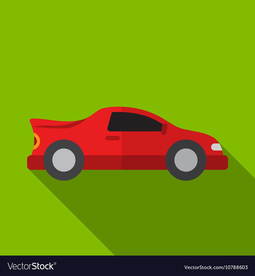 Sport car flat icon