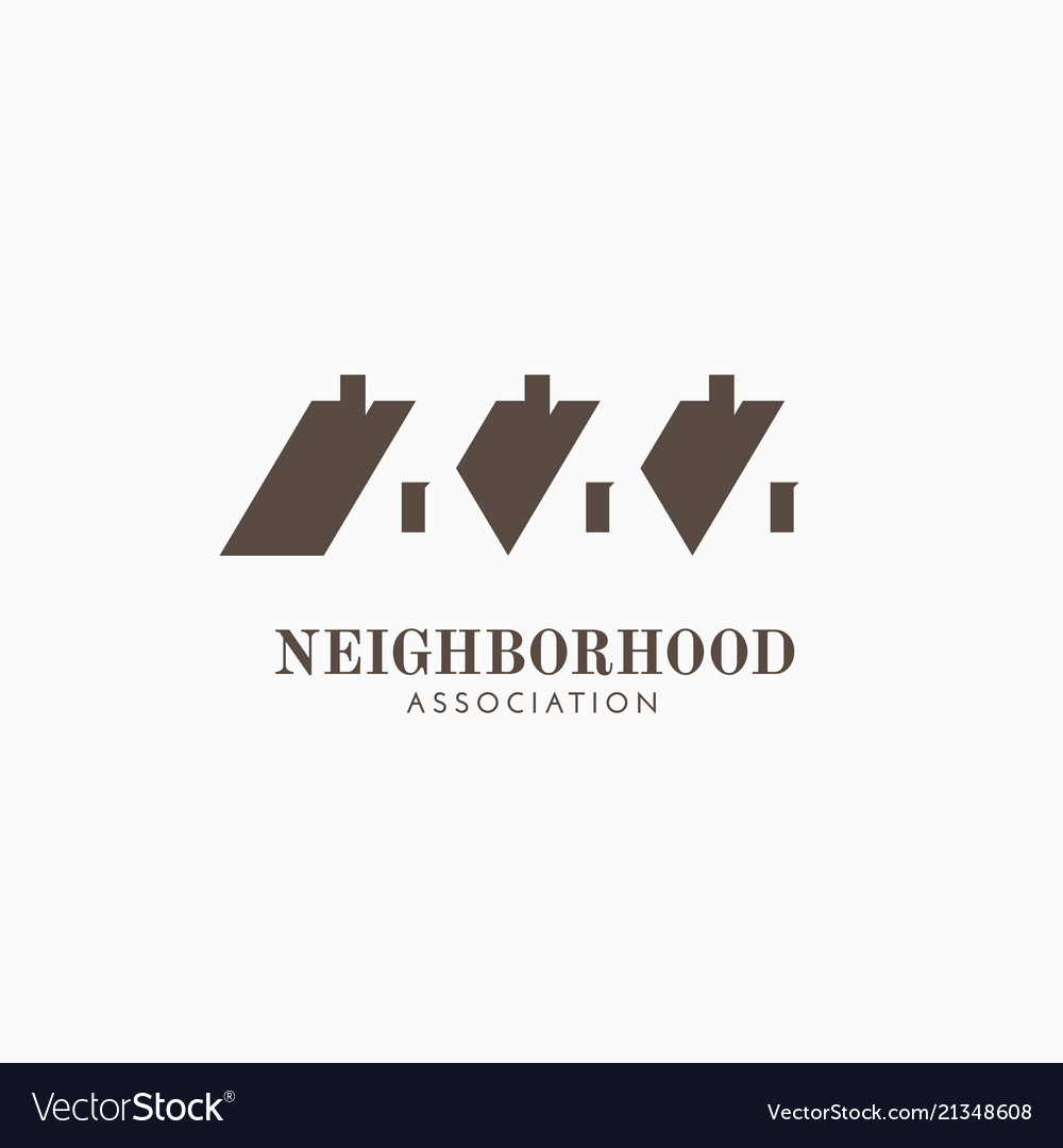 Neighborhood association logo