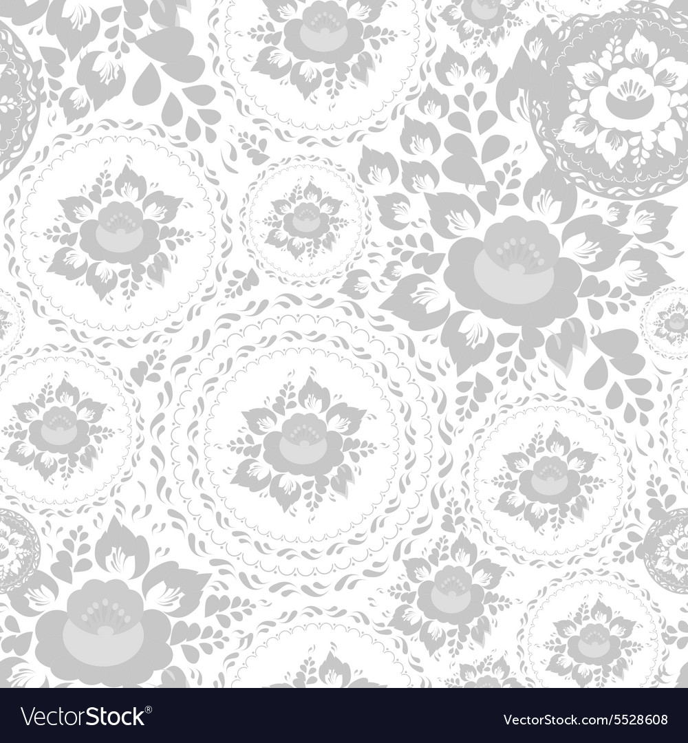 Vintage shabby Chic Seamless pattern with flowers