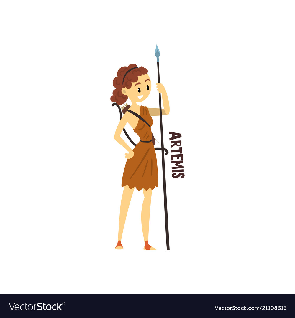 Artemis Olympian Greek Goddess Ancient Greece