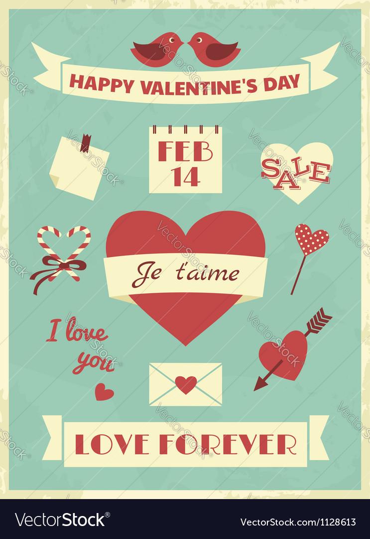 Valentines Day Retro Collection
