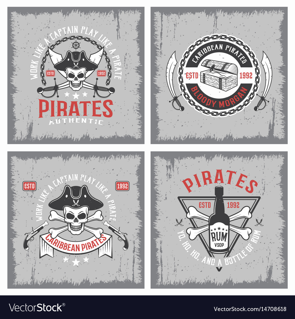 Lifestyle of pirates concepts