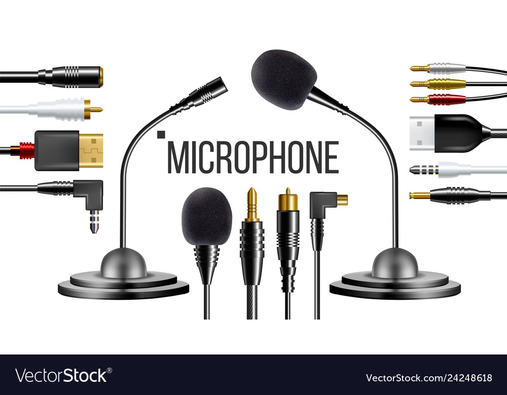 Microphone for clothes voice recording