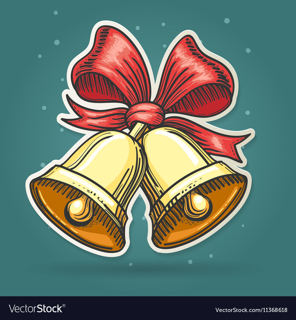Paper Cut Jingle Bells Emblem