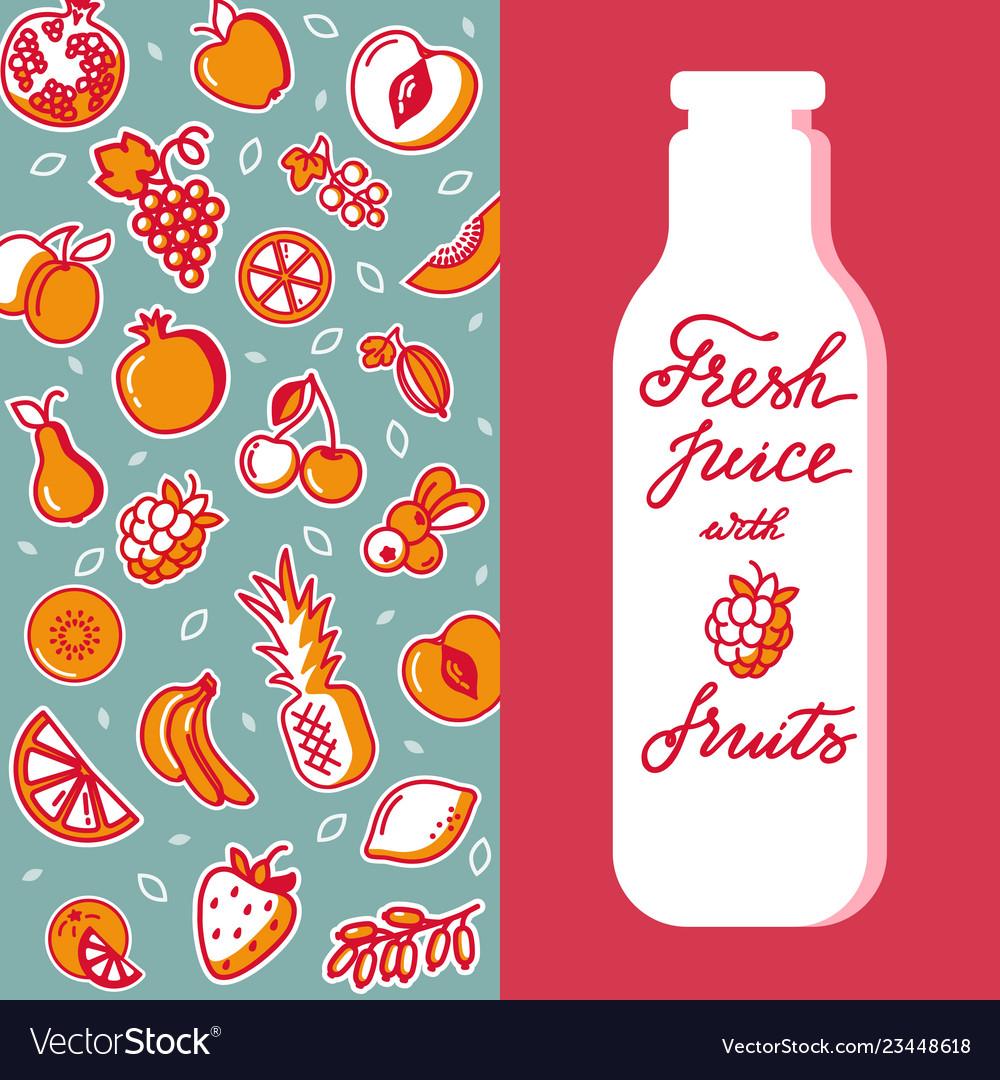 Vertical pattern of fruit for design of