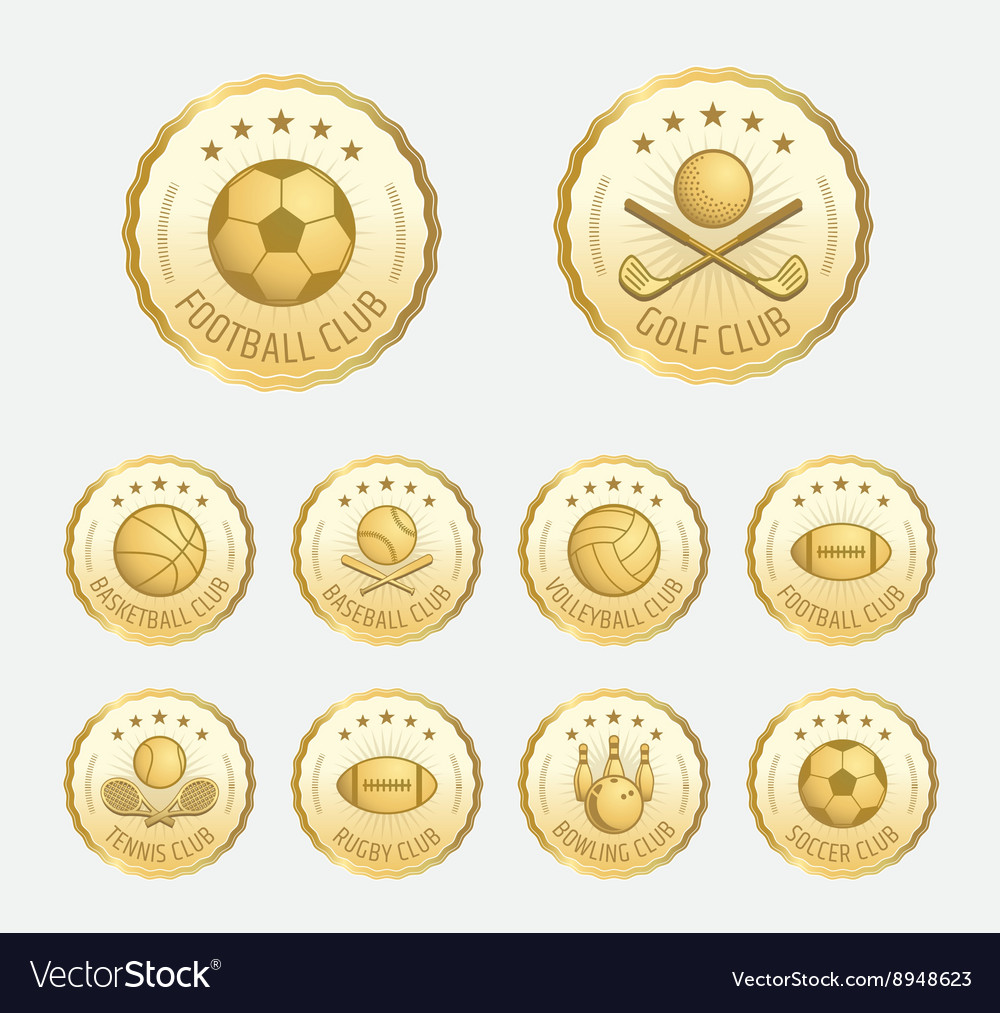 Badge Sports badge football golf tennis basketball