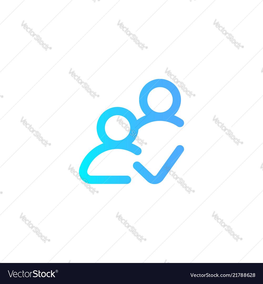 Follower icon sign symbol