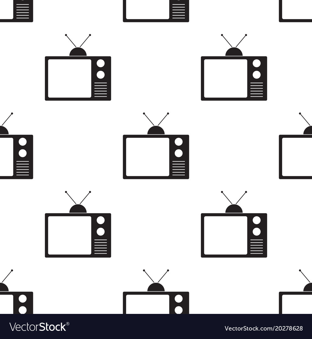 Old television seamless2