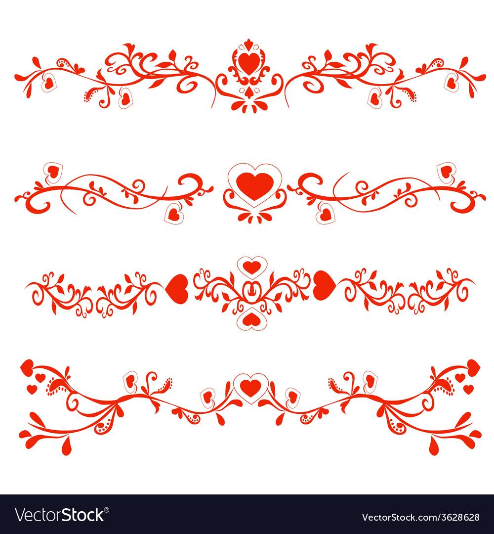 Patterns valentines