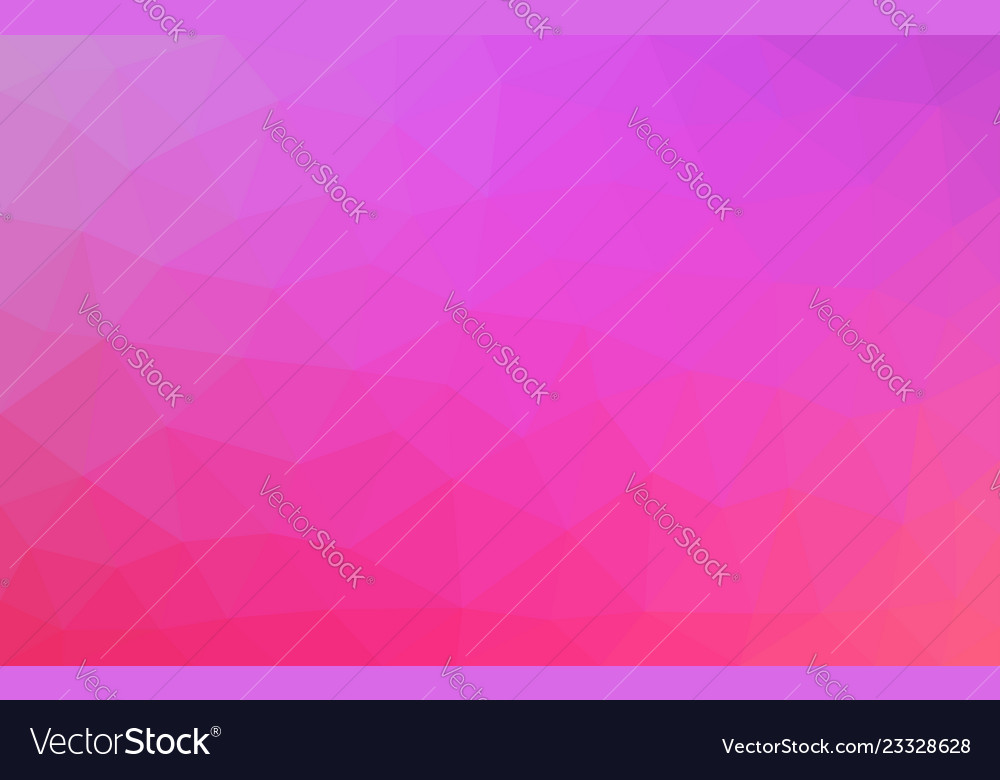 Pink low poly background abstract crystal texture
