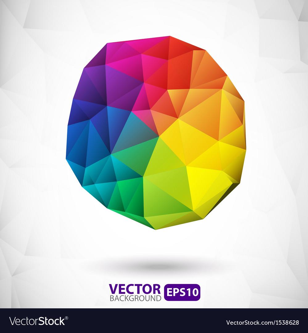 Polygonal sphere design element