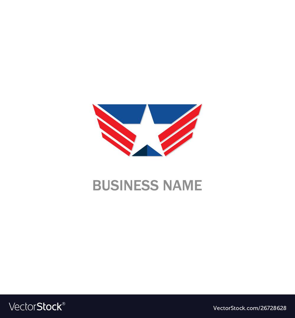 Star emblem logo