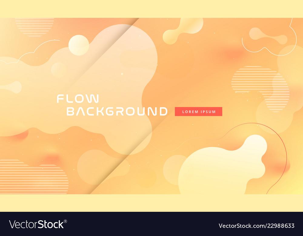 Colorful geometric background pattern fluid