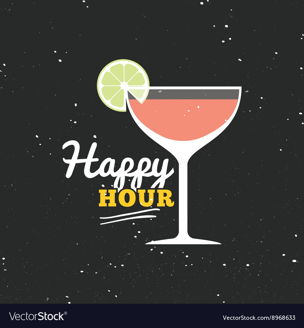 Happy hour label