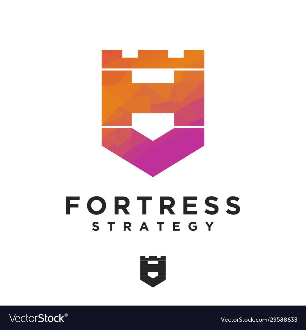 Logo lo poly rook chess