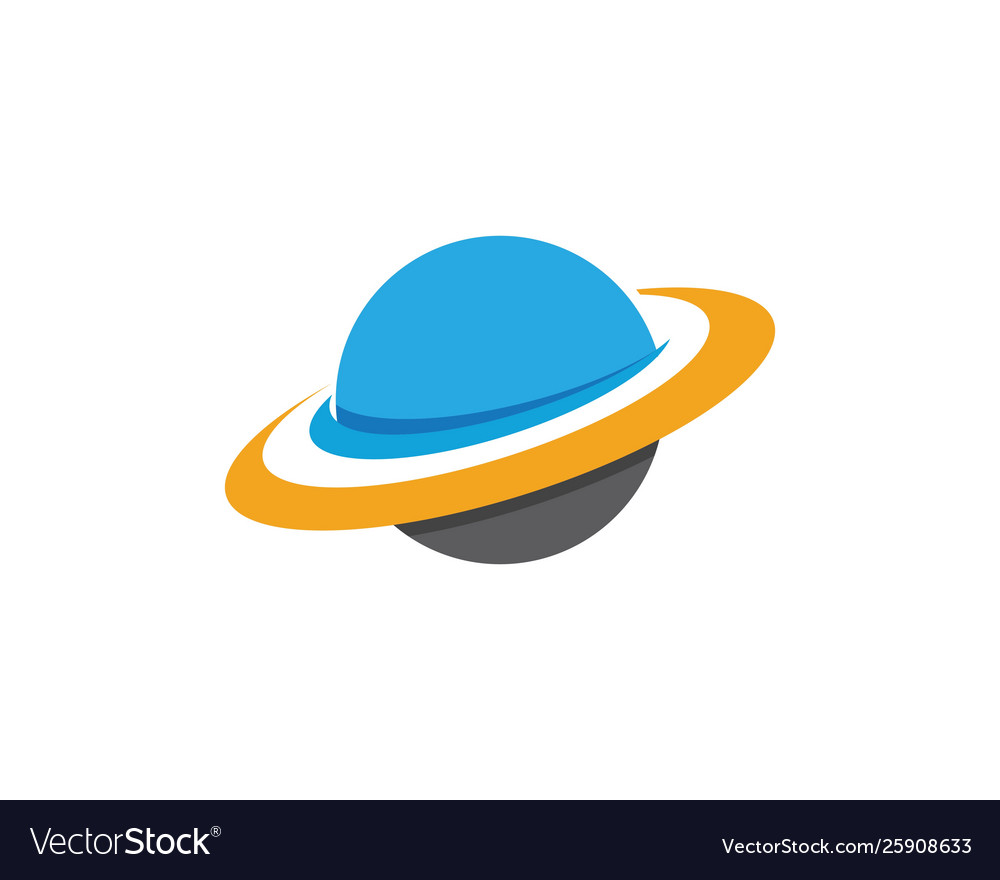 Planet globe icon design