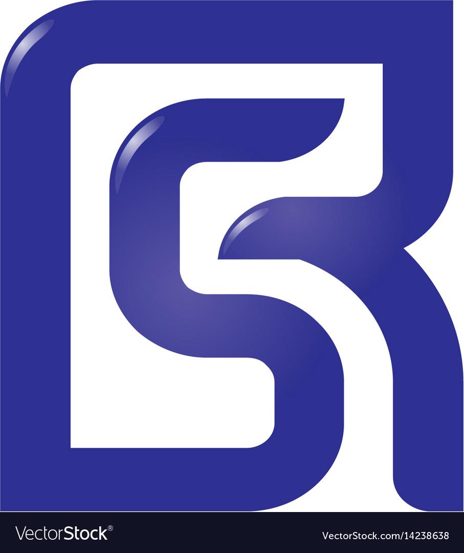 Letter r and s rssrletter s letter r logo